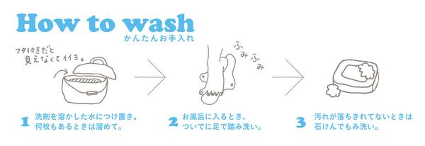 【コラム】ええっ踏むだけ!?布ナプキンの超簡単な洗い方