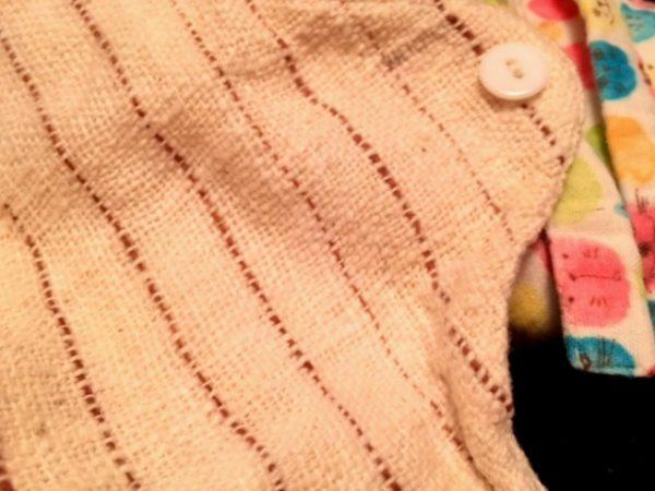 【コラム】ちょっとした発見♪ふんぱんとうふふわ。xうさとの布ナプキン